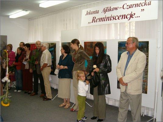 Przeglądasz zdjęcia z artykułu: Jolanta Ajlikow-Czarnecka 'Reminiscencje ...' - Galeria 'FORMAT' 24.08. - 30.09.2005