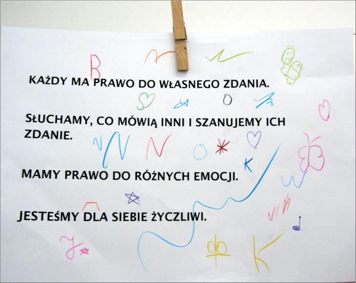 Przeglądasz zdjęcia z artykułu: Marta Słocińska – Bez wyobraźni ani rusz - Warto marzyć ! - Warsztaty z arteterapii – 19.11.2013