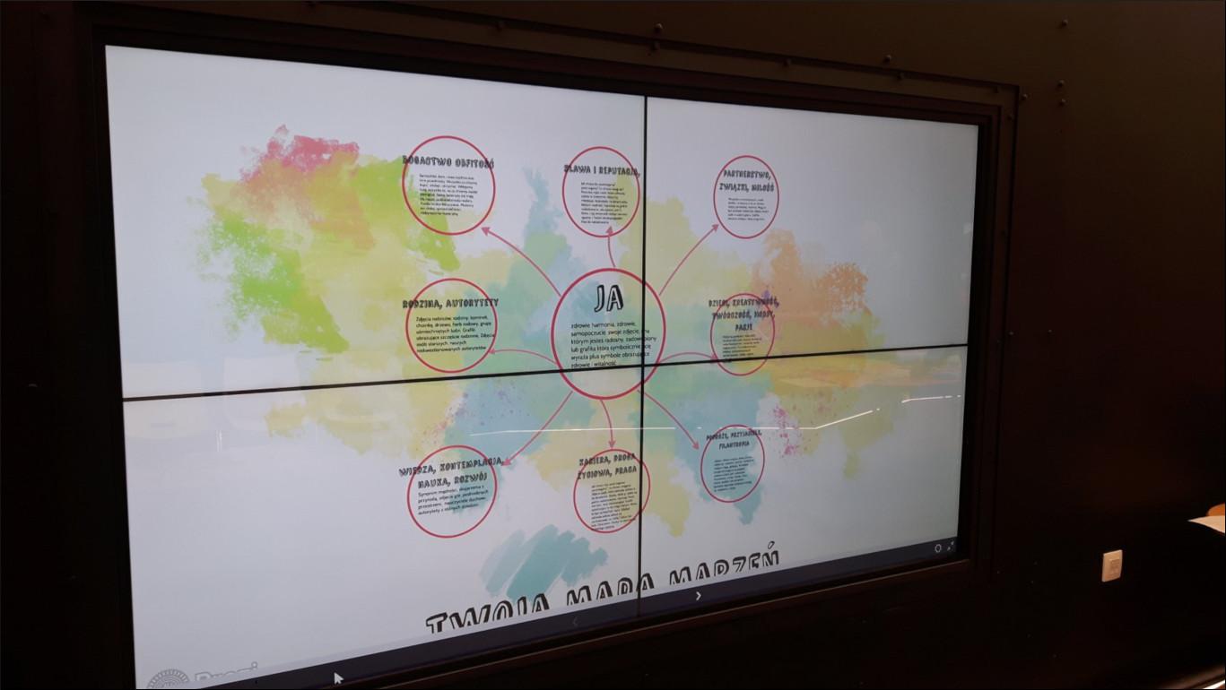 Przeglądasz zdjęcia z artykułu: Rozwijalnia Kreatywna Pracownia - 'Mapy marzeń. Edycja druga - dla seniorów'' 19.04.2019